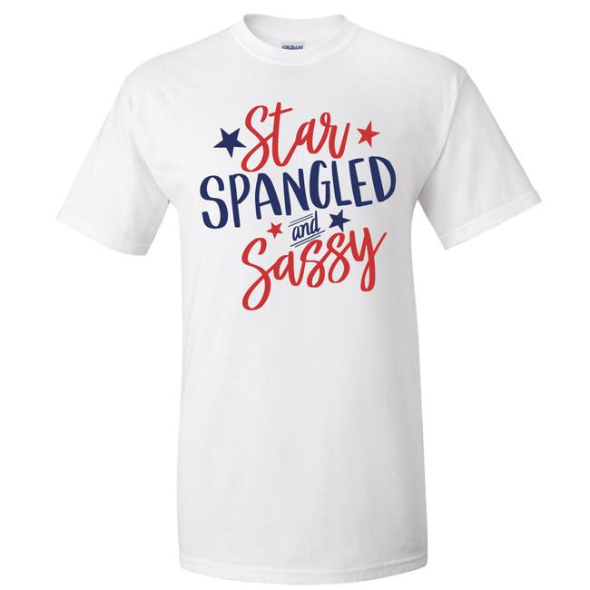 Star Spangled And Sassy Graphic Shirt