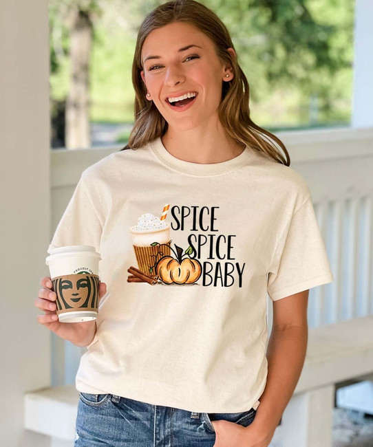 Spice Spice Baby Graphic Tee Shirt
