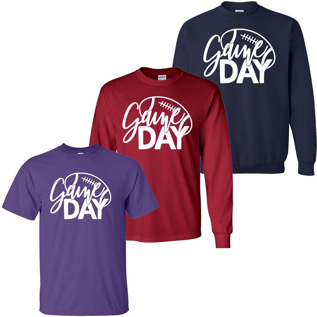 Game Day Graphic Tee Shirt