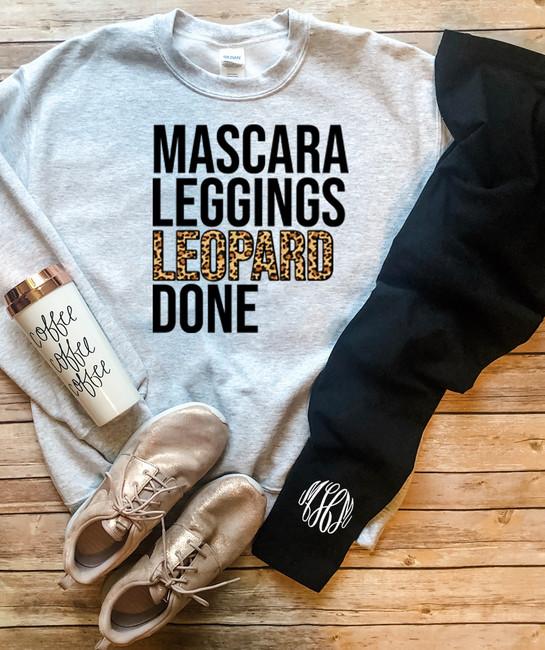 Mascara Leggings Leopard Done Tee