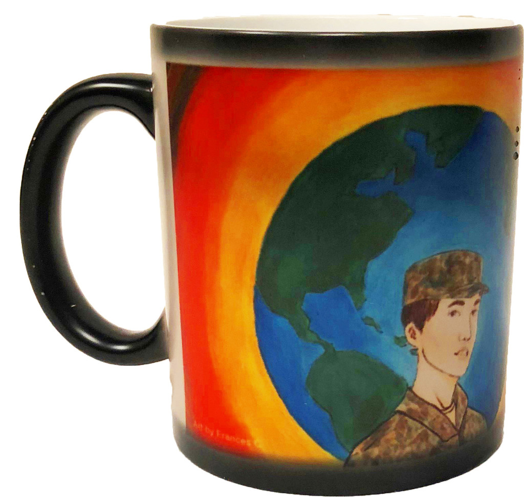 Color Changing Coffee Mug (Frances)-Gift