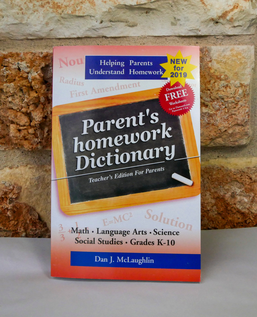 Parent's homework Dictionary- English