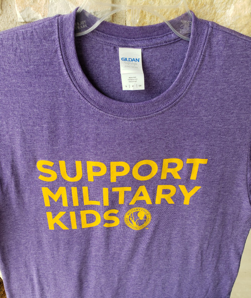 Support Military Kids T-shirt Crew
