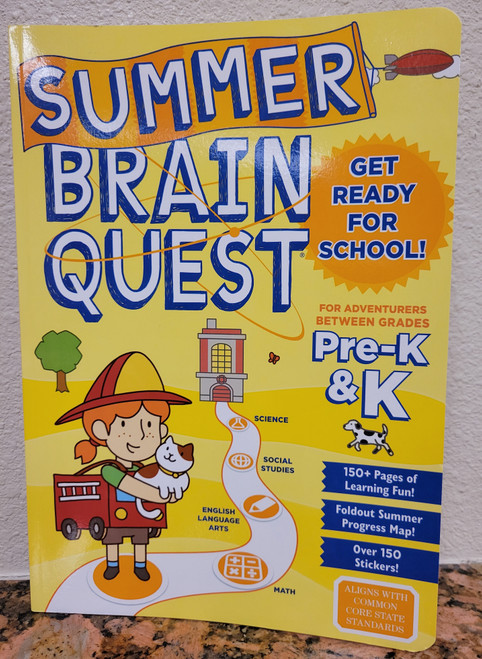 Help STOP the summer slide by staying summer smart!  Learning is fun with this personalized, interactive quest packed with all-new material from Brain Quest, America's #1 educational bestseller! This book highlights Pre-K & K and aligns with common core state standards.