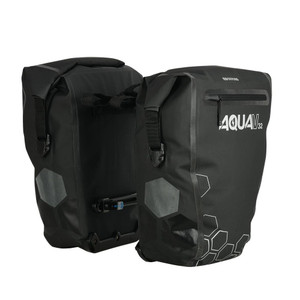 Oxford Aqua V 32 Double Pannier Bag Luggage Black