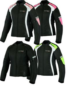 MBSmoto MJ24 Ladies Waterproof Textile Jacket