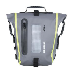 Oxford Aqua T8 Detailing Tail Bag Pack Black/Grey/Fluo