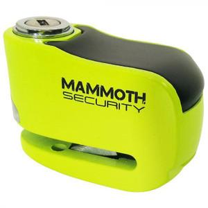 Mammoth Gremlin Alarm Disk Lock Flouro Yellow - LODALM03