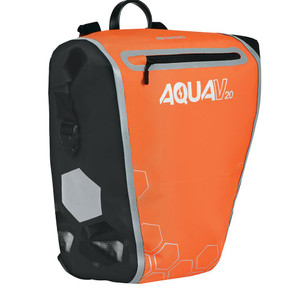 Oxford Aqua V 20 QR Pannier Bag Orange/Black