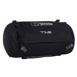 Oxford DryStash T15 WP Motorcycle Roll Bag Black