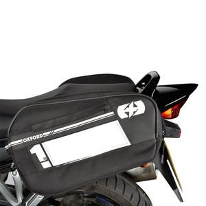Oxford F1 Panniers Large 55L Luggage Black