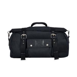 Oxford Heritage Styled Roll Bag Motorcycle Bike Black 20L