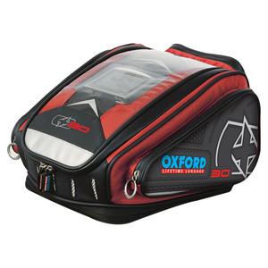 Oxford OL267 X30 QR Tank Bag Luggage Red