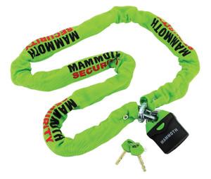 Mammoth Security 1.8m Lock & Chain Heavy Duty - LOCM009