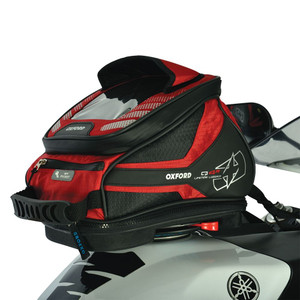 Oxford Motorcycle Q4R Tank Bag 4LRed