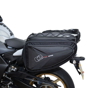 Oxford P60R Panniers Motorcycle Luggage Black