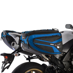 Oxford P50R Panniers Motorcycle  Luggage Blue