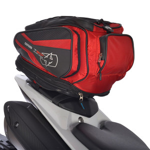 Oxford T30R Tail Pack Convert To Backpack Red
