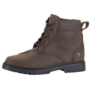 Diora Renegade Waterproof Brown Leather Touring  & Urban Boots