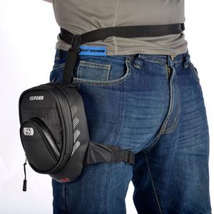 Oxford OL239 L1R Leg Bag Zip 1L- Black