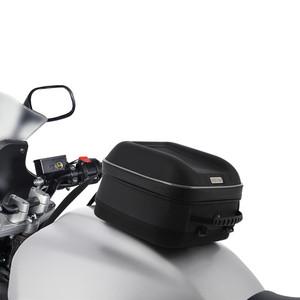 Oxford S-Series Q4s Reflective Piping Tank Bag Black