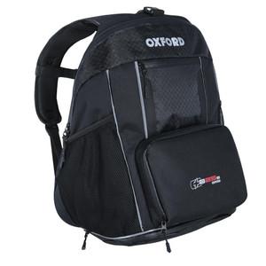 Oxford XB25s Non- PVC Base Luggage Back Pack Black