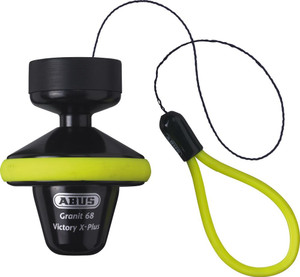 Abus Granit Victory 68 Black Voll Gelb Roll Up 14mm