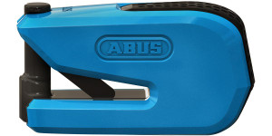 Abus Smart X Detecto 8078 Motorcycle Alarm Brake Disc Lock Blue