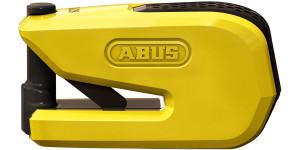 Abus Smart X Detecto 8078 Motorcycle Alarm Brake Disc Lock Yellow