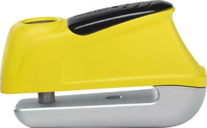 Abus Motorcycle Security Trigger Alarm 350 Yellow Disc Lock 9.5/50mm