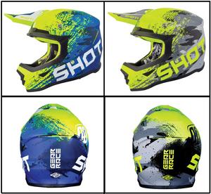 Shot Furious MX Counter Helmet