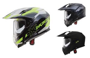 Caberg X-Trace Dual Sports Motorcycle Motorbike Helmet