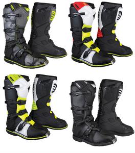Shot X10 2.0 Adult Motocross MX Off Road Boots
