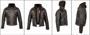 Spada All Season Peace Dog Leather Jacket