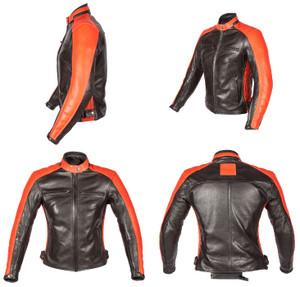 Spada Leather Jackets Ladies Turismo Black-Autumn Sun