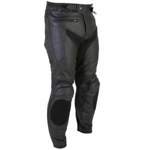 Spada - Nero Full grain Leather Trouser Black CE Armour