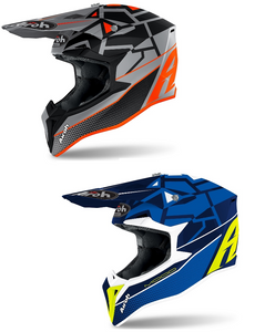 Airoh 2021 Wraap Mood Off Road Helmet Motocross