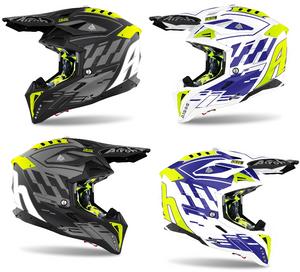 2021 Airoh Aviator 3 Rampage Motocross Off Road Helmet