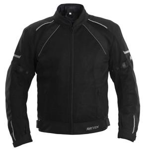 Rayven Air-Tec Waterproof Textile Jacket Black