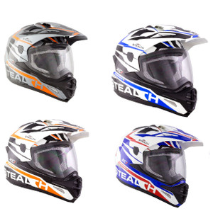 Stealth HD009 XC1 Adult Dual Sport Helmet