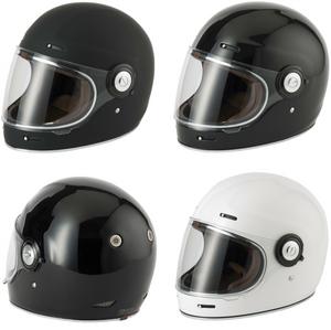 Vcan V135 Fibreglass Retro Vintage Style Helmet