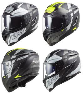 LS2 FF327 Challenger Allert Full Face Road Crash Helmet