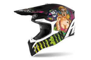 Airoh Wraap Motocross Enduro Special Helmet Pin Up Matt