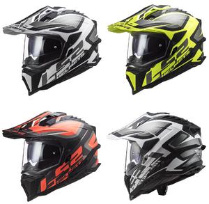 LS2 MX701 HPFC Explorer Alter Off Road Helmet Black White