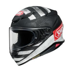 Shoei NXR 2 Scanner Full Face Helmet Matt black White