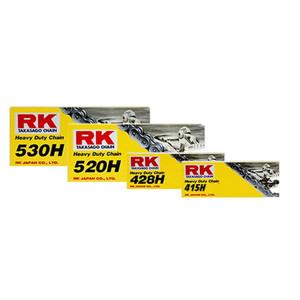 RK Heavy Duty Derive Chain For Motorcycle Motorbike Alloy Steel 415HSB X 90