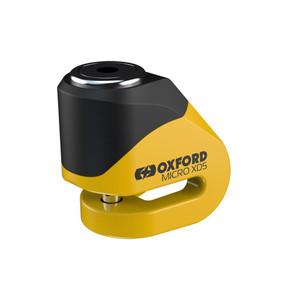 Oxford Micro XD5 Disc Lock Yellow/Black