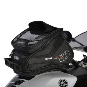 Oxford M4R Motorcycle Tank N Trailer - Black