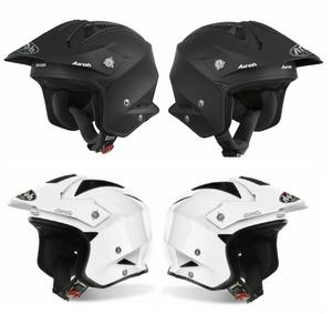 Airoh TRR S Color Plain Open Face Trail Helmet