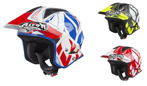 Airoh TRR S Convert Open Face Trail Helmet